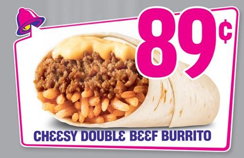 Combos de Taco Bell Combo Burrito Ben 39 s Taco
