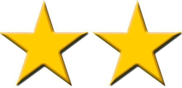 two stars up