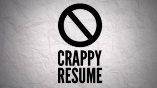 your resume sucks
