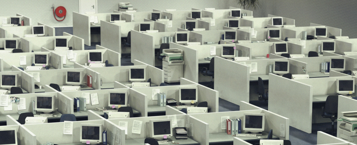 cubicle office space. the cubicle as we know it was created by robert propst you should this so can impress your friends at parties and because later came to office space