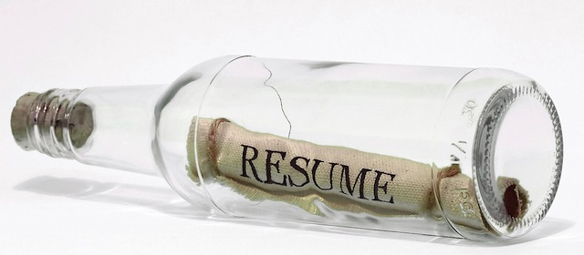 New resume cool? The old-fashioned hard copy? - Fistful of Talent