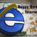 Happy Bday Internet.