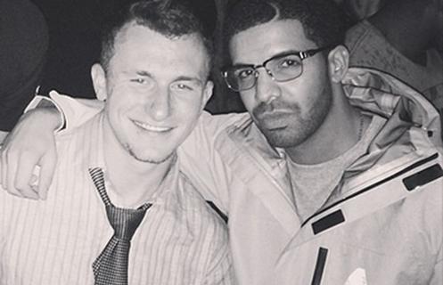 Manziel and Drake