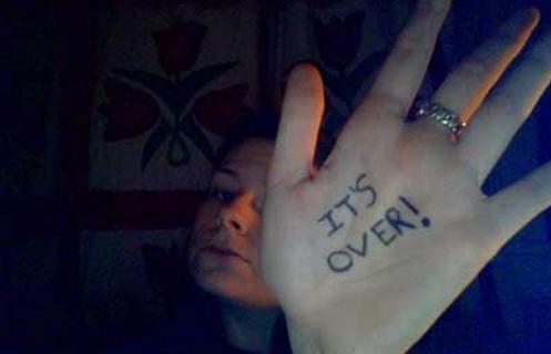 It's over