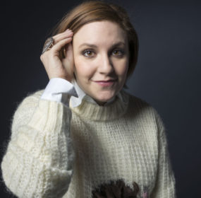 """Lena Dunham poses for a portrait to promote the film, """"It's Me, Hilary: The Man Who Drew Eloise"""", at the Eddie Bauer Adventure House during the Sundance Film Festival on Sunday, Jan. 25, 2015, in Park City, Utah. (Photo by Victoria Will/Invision/AP)"""